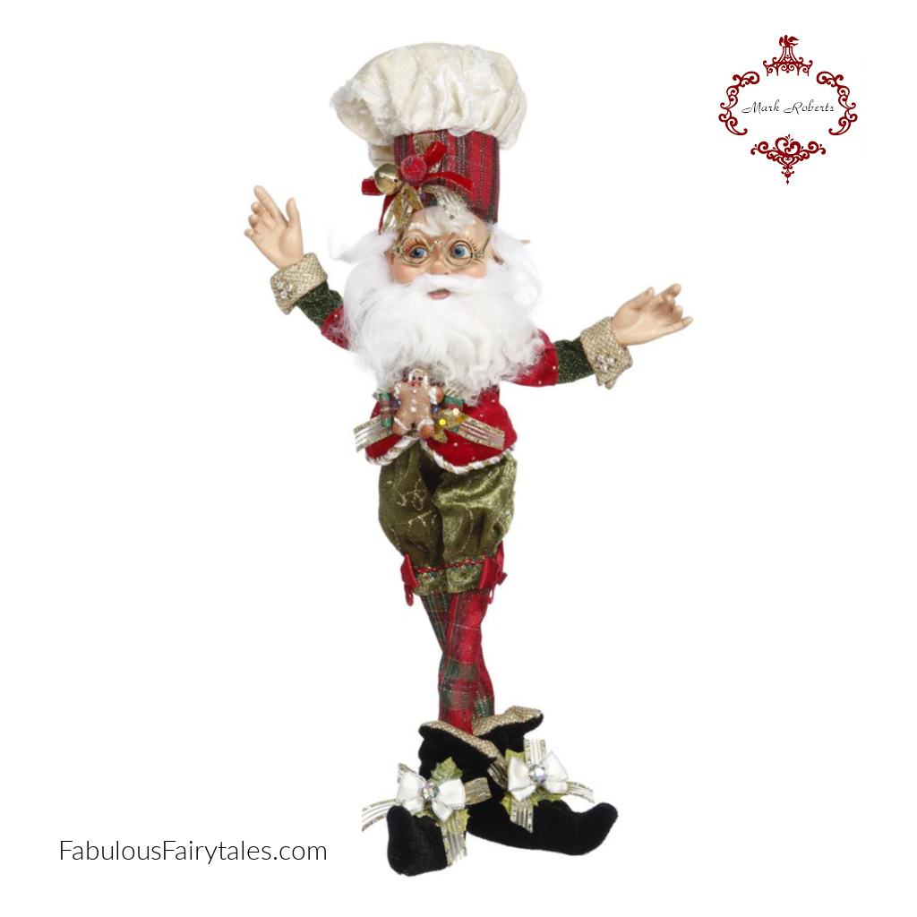 Mark Roberts North Pole Cookie Maker Elf