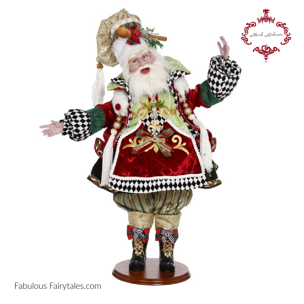Mark Roberts Christmas Cookie Maker Santa Doll