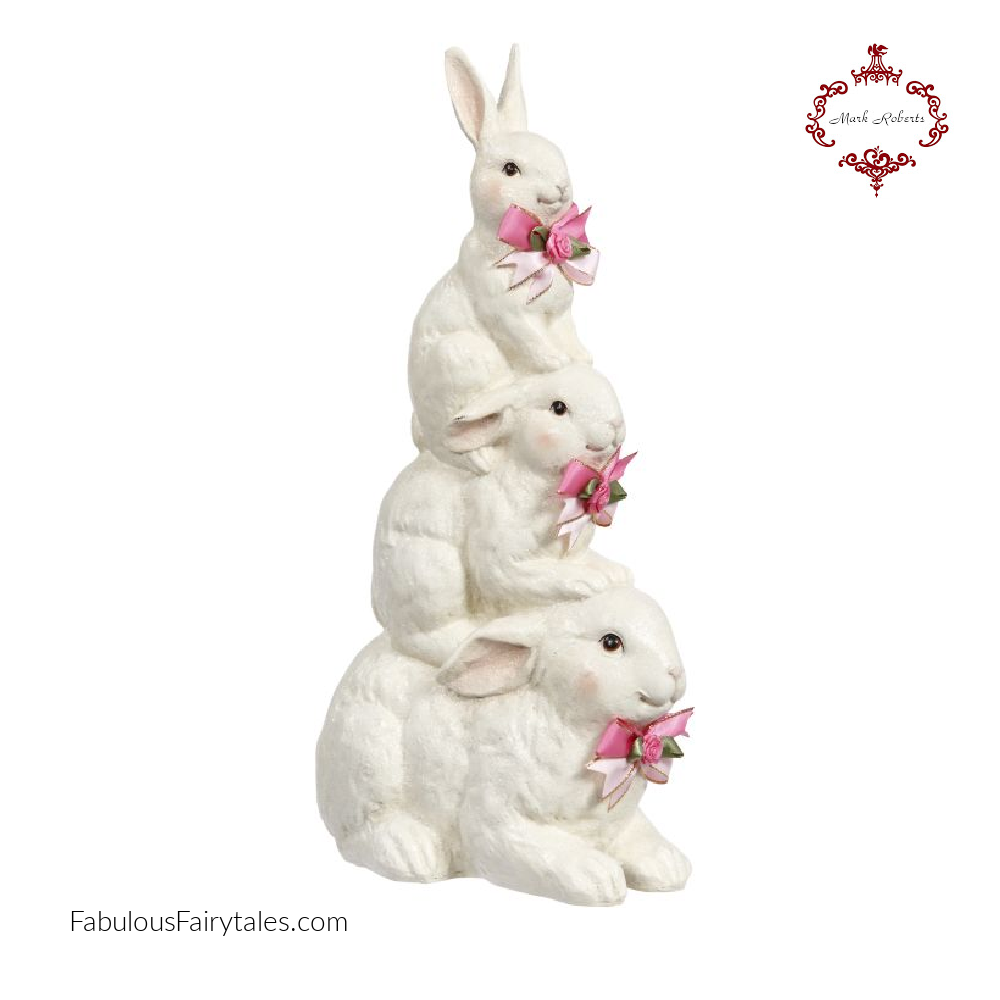 Mark-Roberts-Easter-Rabbit-Trio-Stack-Decoration