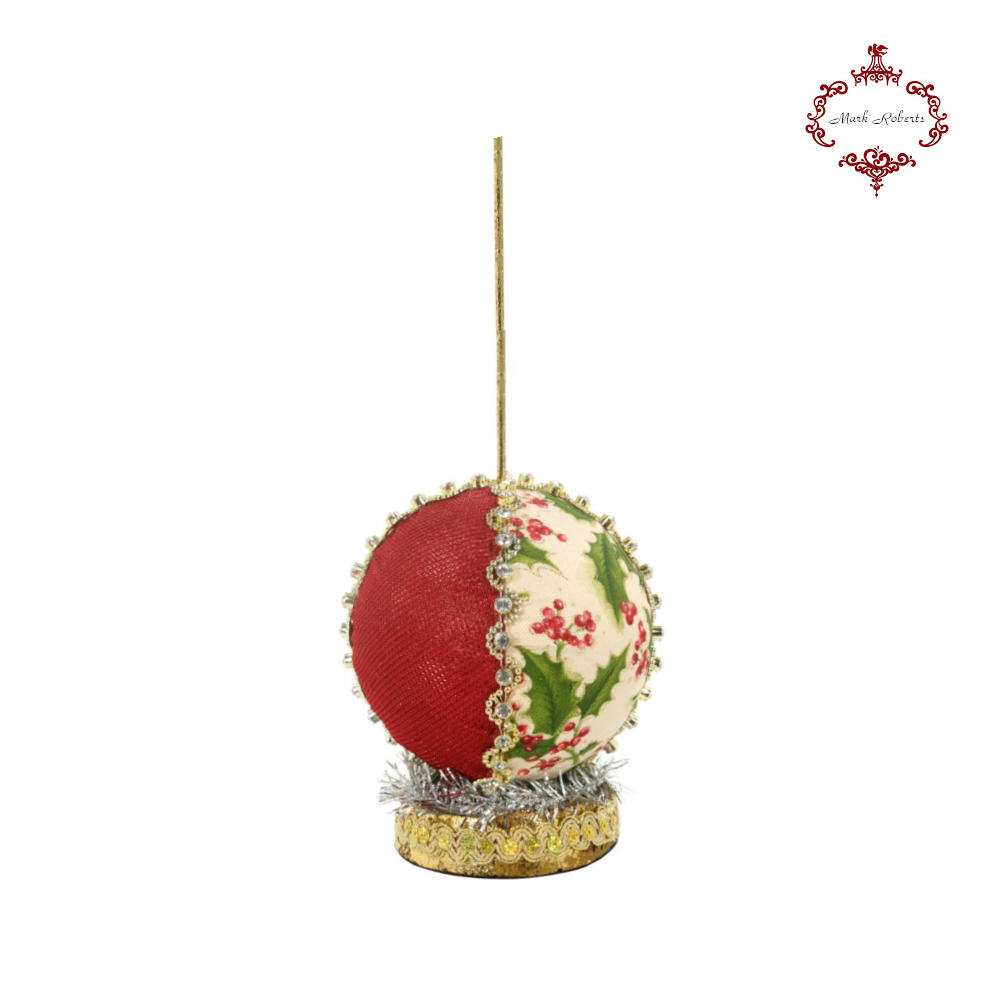 Mark Roberts Festive Ball Display Stand Small