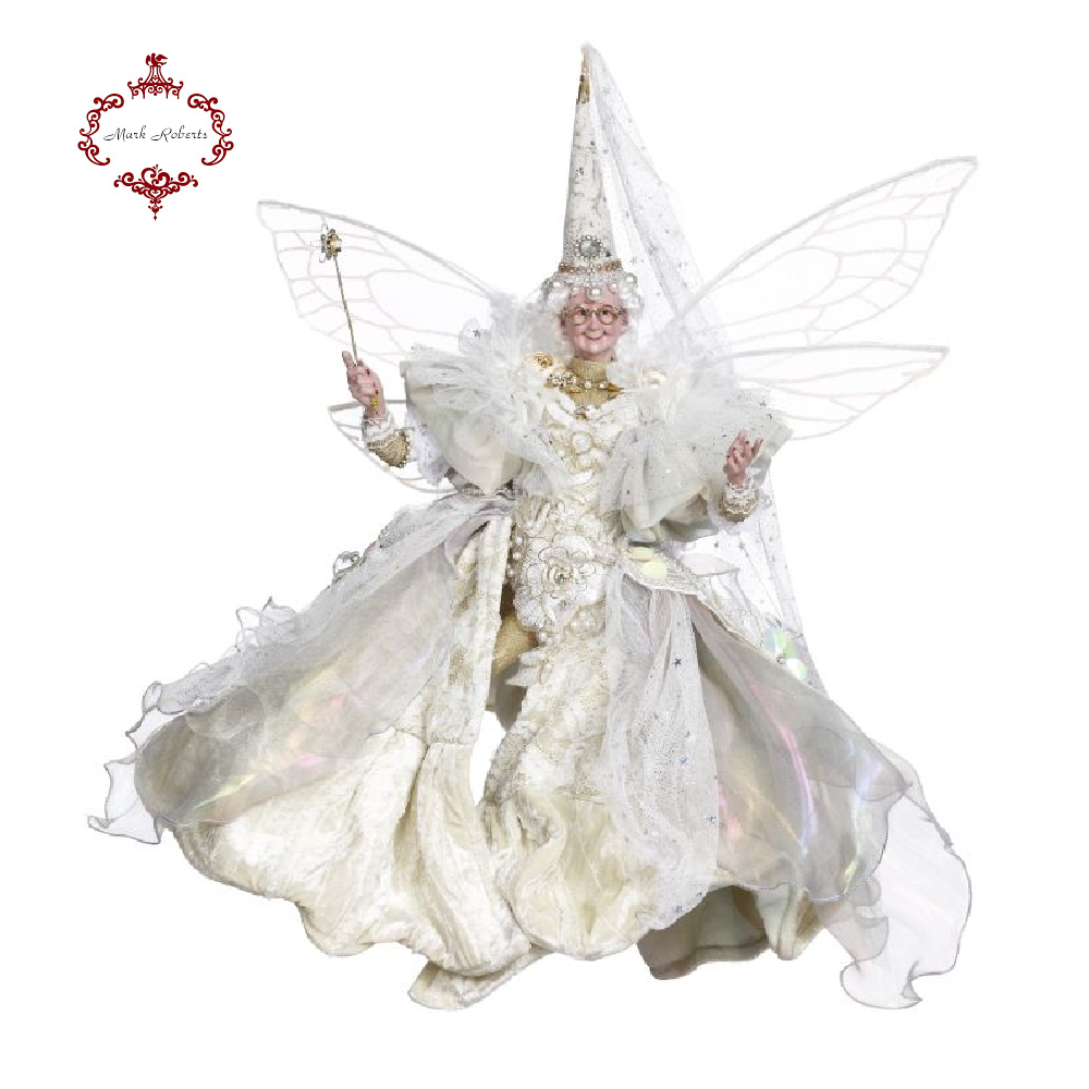 Mark Roberts Ivory Fairy Godmother Figurine Large