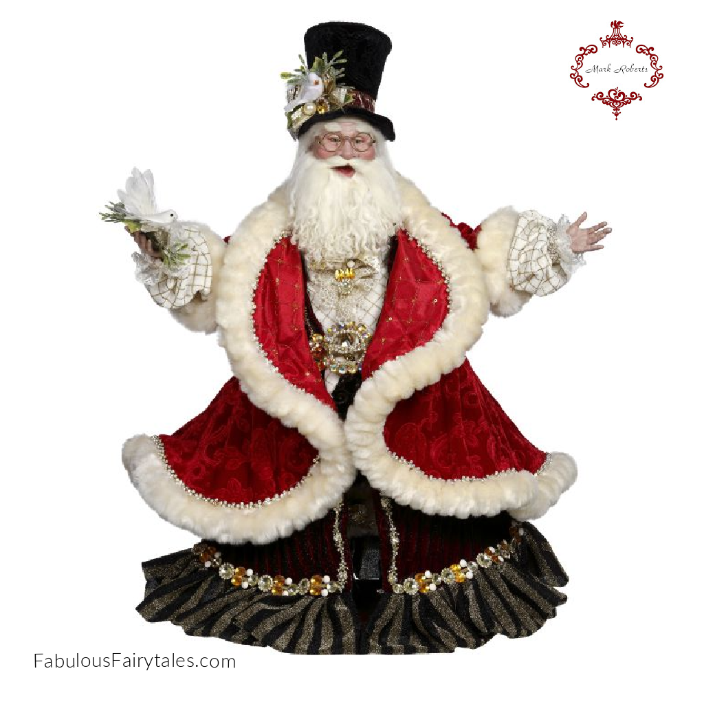 Mark Roberts Santa On The Town Christmas Display Figure