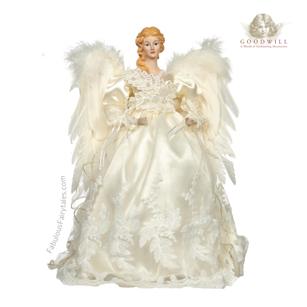 Beautiful Christmas Angel Tree Topper Shop