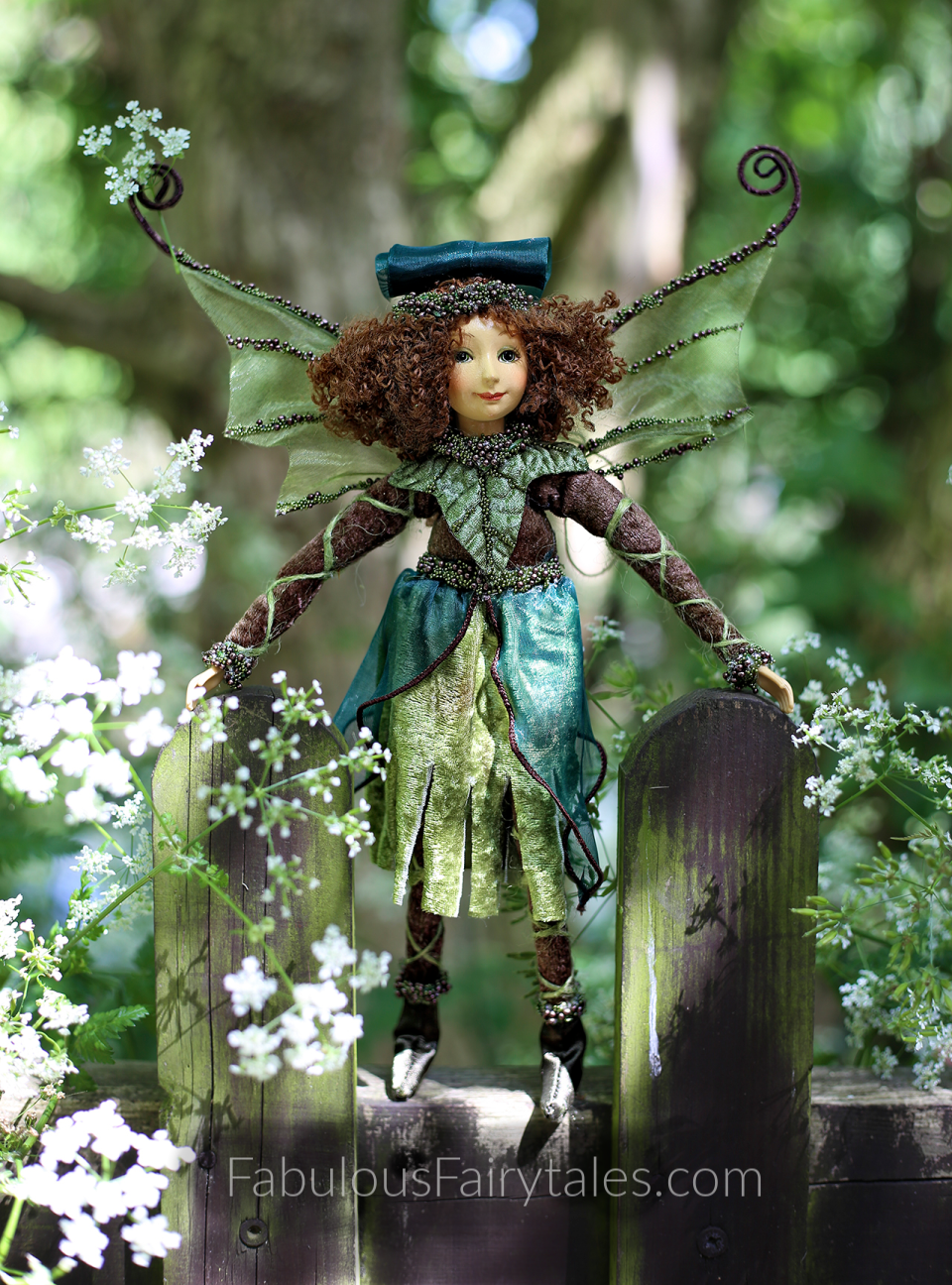 Verbena the Forest Fairy Explorer Figurine