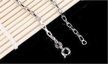 Load image into Gallery viewer, Men's Sterling Silver Box Chain Necklace