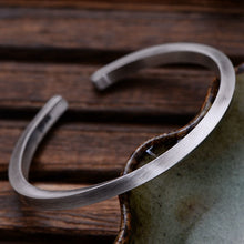 Load image into Gallery viewer, Sterling Silver Twisted Cuff Bracelet
