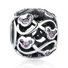 Load image into Gallery viewer, Sterling Silver Magical Mouse Bead Collection - 15 Sparkling Designs