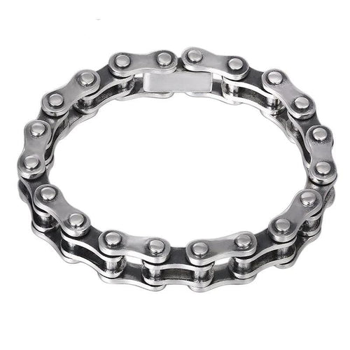 Sterling Silver Bike Chain Bracelet - Two sizes Available