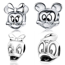 Load image into Gallery viewer, Sterling Silver Disney Celebrity Bead Charms