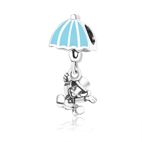 Sterling Silver Dangling Jiminy Cricket Charm