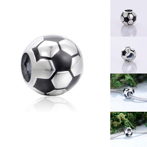 Sterling Silver & Enamel Sports Ball Collection