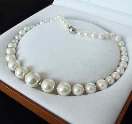 8-16MM White South Sea Shell Pearl 18