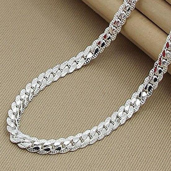 Women's Fancy Sterling Silver Necklace