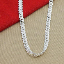 Load image into Gallery viewer, Women's Fancy Sterling Silver Necklace