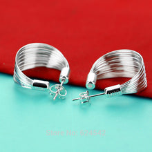 Load image into Gallery viewer, Sterling Silver Wire Earrings