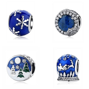 Sterling Silver Winter Wonderland Bead Charms