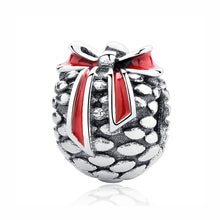 Load image into Gallery viewer, Sterling Silver & Enamel Christmas Bead Charm Collection - 26 Designs