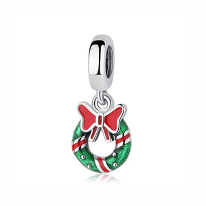 Sterling Silver & Enamel Christmas Bead Charm Collection - 26 Designs