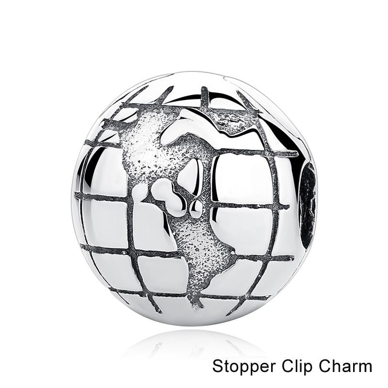 Around the World Collection - 49 Sterling Silver Bead Charm Styles