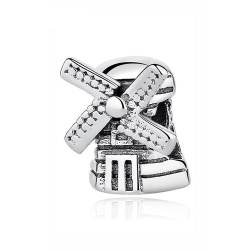 Sterling Silver Windmill Bead Charm
