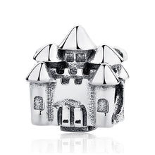 Load image into Gallery viewer, Sterling Silver Sparkling Royal Charm Bead Collection