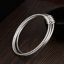 Load image into Gallery viewer, Sterling Silver Triple Bangle
