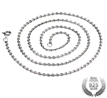 Load image into Gallery viewer, Sterling Silver Pendent Chain, 2.0mm Sterling Silver Chain, Genuine 925 Sterling Silver Chain, 100Sterling.com, Sterling Silver jewelry