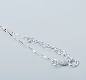 Silver Plated Triple Cube Necklace