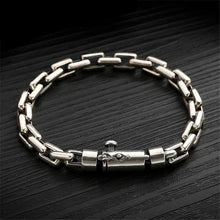 Load image into Gallery viewer, Hand-made Solid Thai Sterling Silver Chain Link Bracelet