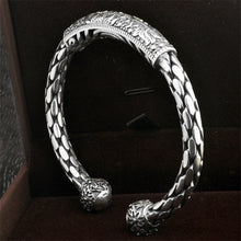 Load image into Gallery viewer, Solid Thai Sterling Silver Accent Cuff Bangles -Two Designs