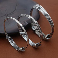"Load image into Gallery viewer, Sterling Silver ""Wired-Up"" Bracelets"