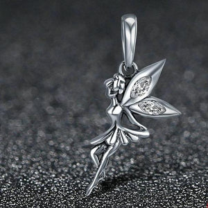 Sterling Silver Dangling Magical Fairy Charm