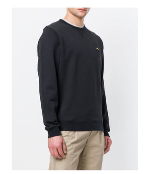 Bella Freud Dog Emblem Sweatshirt in Black - Man - bloke-white-denim