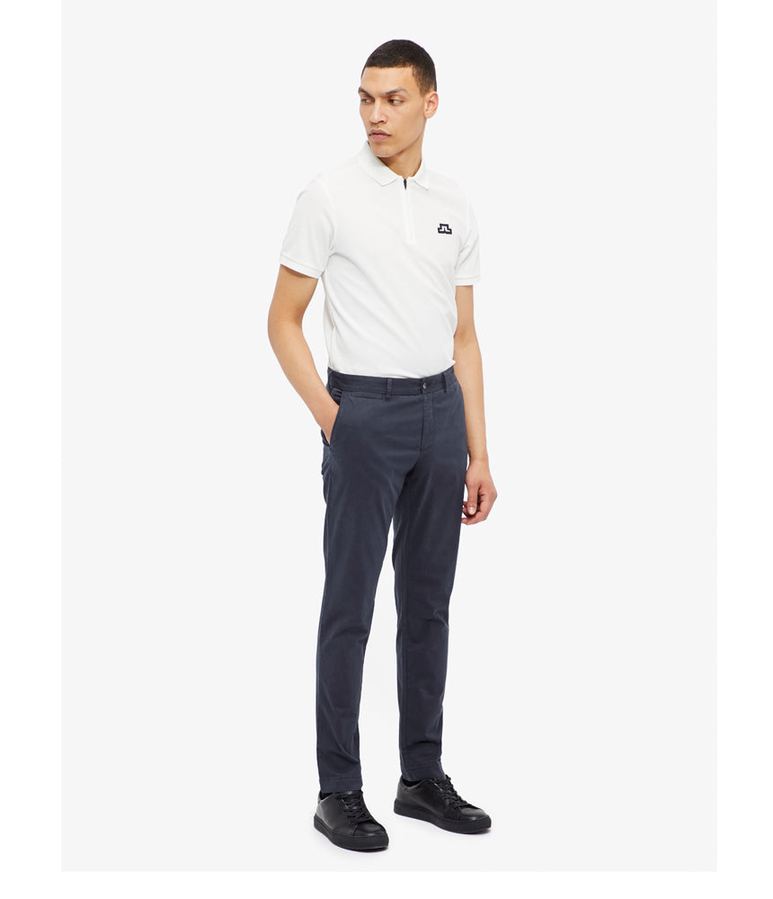 J.Lindeberg Chaze-Super Satin Trouser in Navy