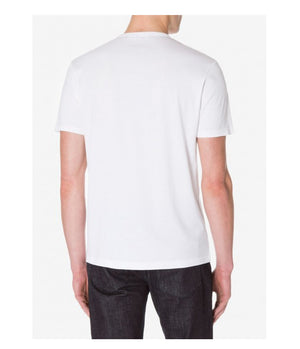 Sunspel Short Sleeve Classic Crew Tee in White - Man - bloke-white-denim
