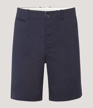 Samsoe Samsoe College Shorts in Dark Sapphire - Man - bloke-white-denim