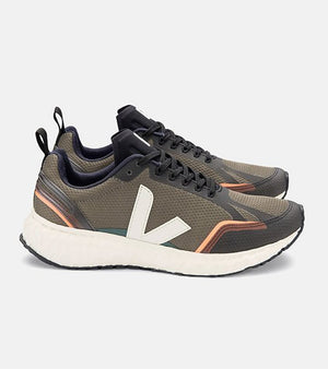 Veja Condor Mesh Runners in Khaki & Natural
