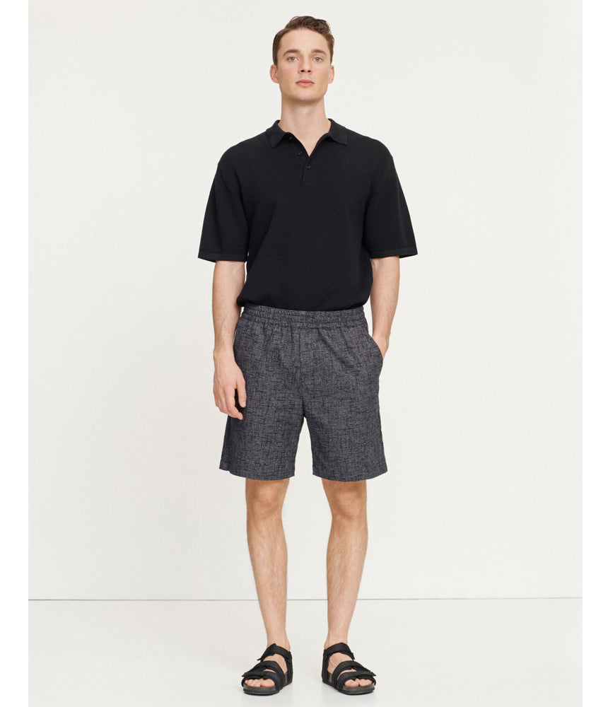 Samsoe Samsoe Falun Polo in Black