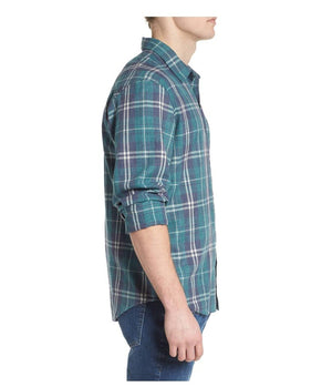 Rails Lennox Shirt In Viridian Green Check - Man - bloke-white-denim