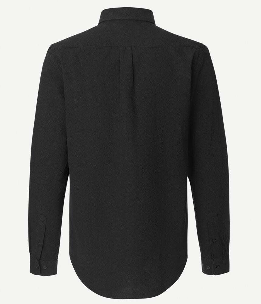 Samsoe Samsoe Liam BA Shirt in Black