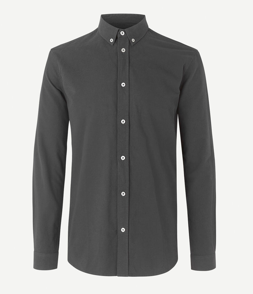 Samsoe Samsoe Liam Shirt in Washed Black