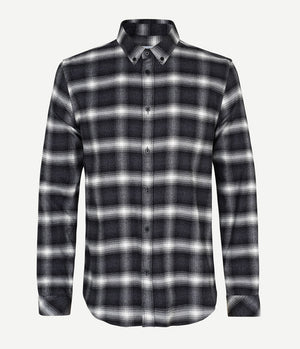 Samsoe Samsoe Liam Shirt in Black Check