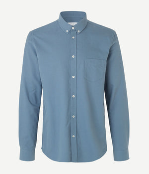 Samsoe Samsoe Liam Shirt in Blue Mirage