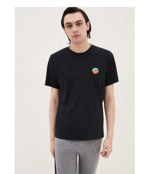 Bella Freud Lion Emblem Tee in Black