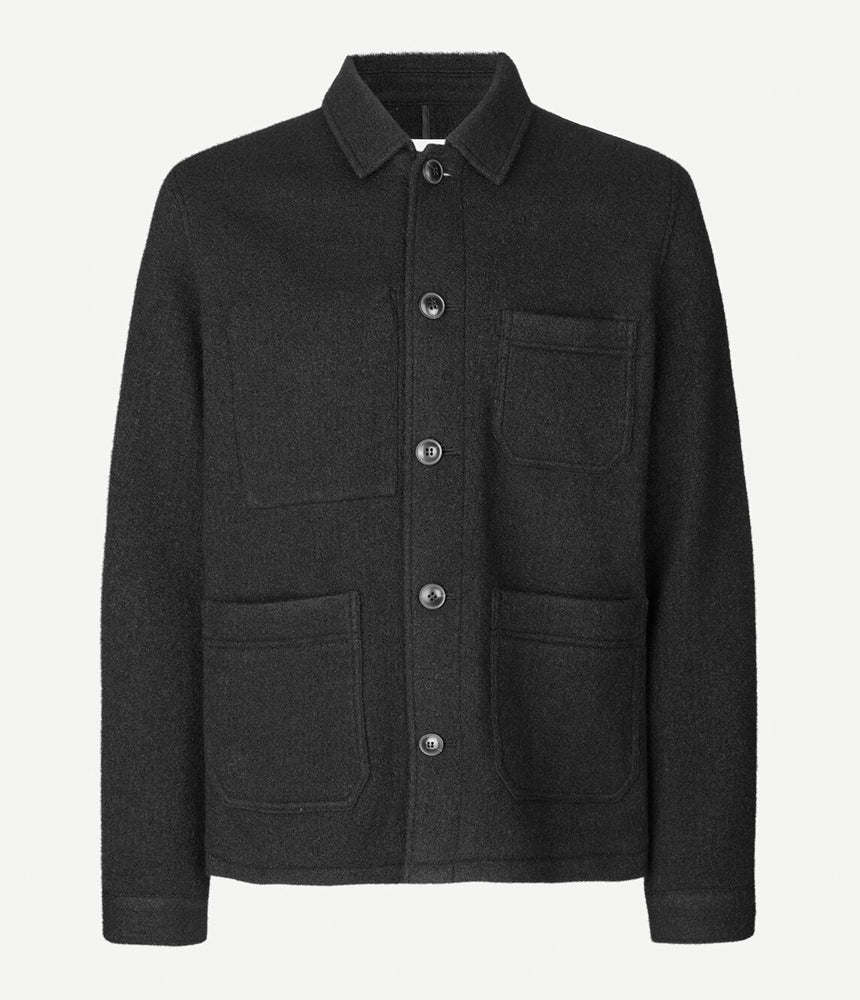 Samsoe Samsoe Worker Jacket in Black