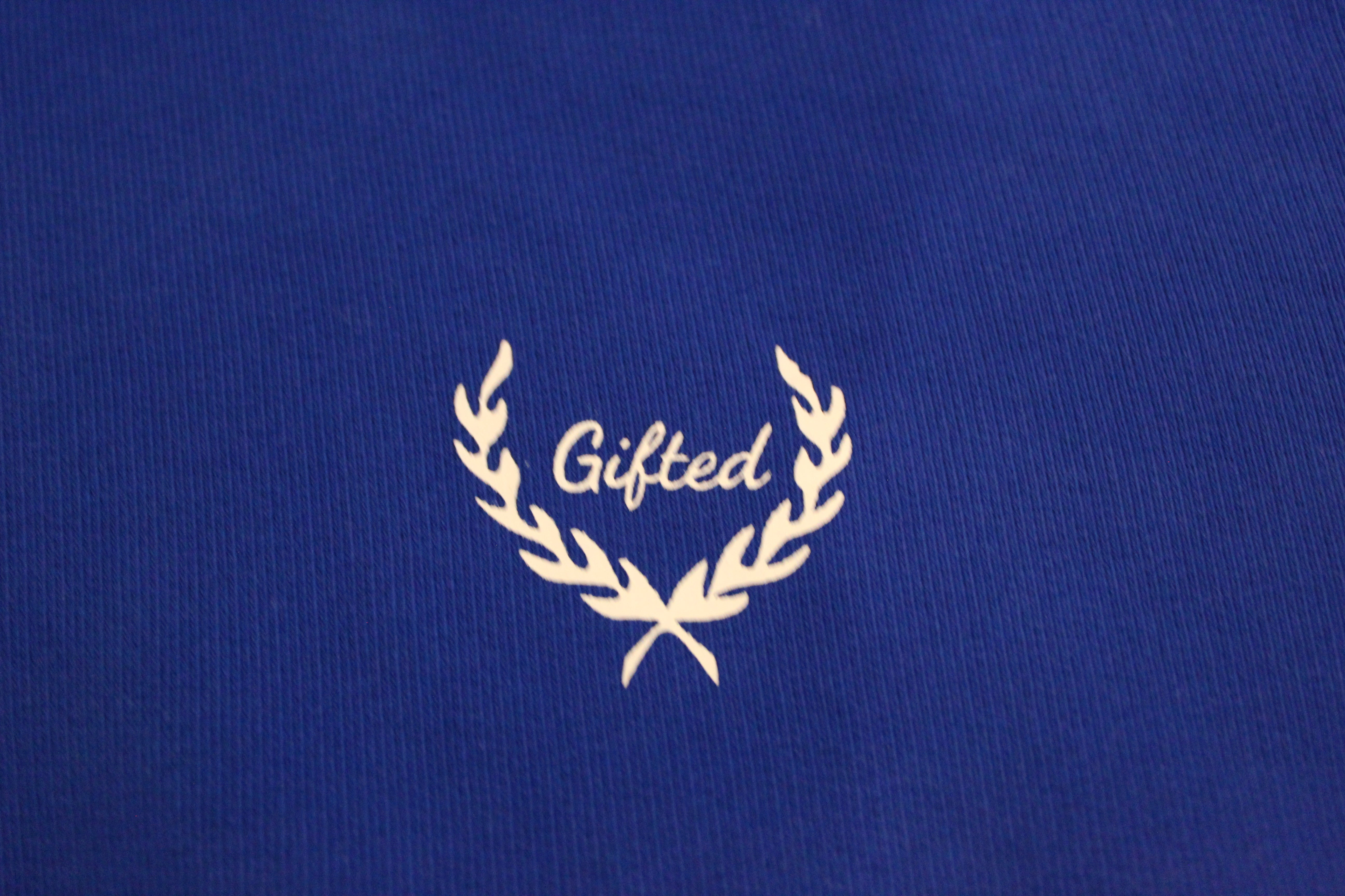 The Great Quote Hoodie - Blue