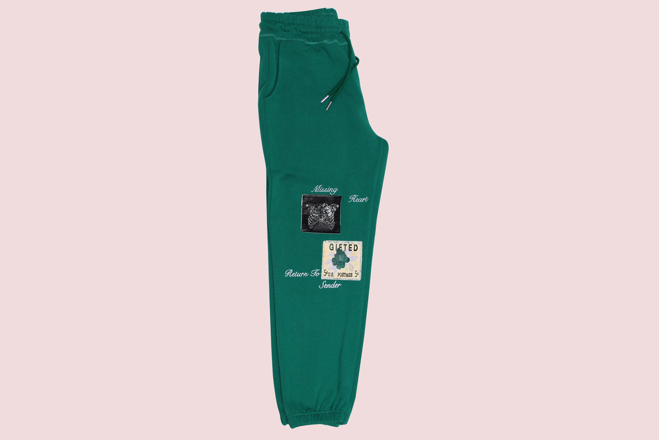 Missing Heart Pants - Green