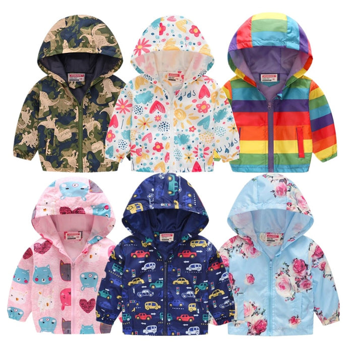 2021 Kids Autumn Winter Hooded Jackets - Kids Bayou