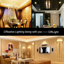 Load image into Gallery viewer, CRLight 6W 700LM Dimmable LED Filament Retro Candelabra Bulbs 2700K Warm White, E12 Base, 60W Incandescent Equivalent, Clear Glass Bullet Top, 6 Pack
