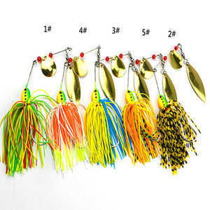 4 pcs  Fishing Lures Buzzbait & Spinnerbait
